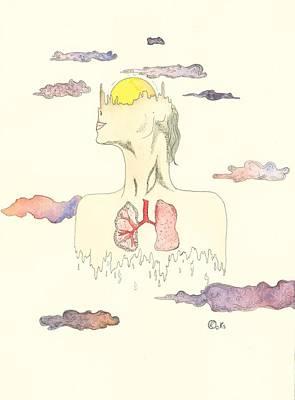 Dali Painting - Rising by Kiana Gonzalez