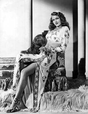 Rita Hayworth, Columbia Pictures, 1946 Art Print by Everett