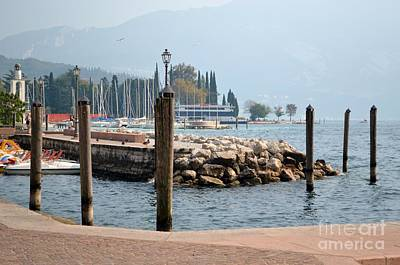 Art Print featuring the photograph Riva Del Garda by Kathleen Pio