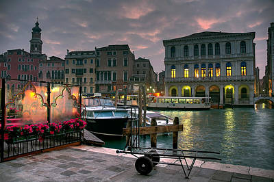 Photograph - Riva Del Vin. Venezia by Juan Carlos Ferro Duque