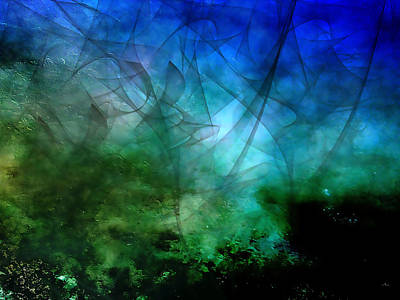 Photograph - River Bottom - Abstract by Ellen Heaverlo