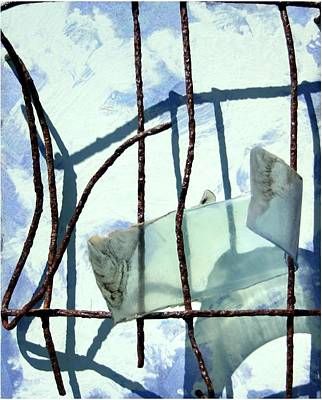 Collectible Mixed Media - River By Twelve Panel 7 by Dodd Holsapple