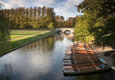 Photograph - River Cam by Ian Merton