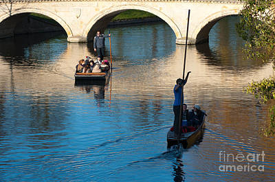 River Cam Traffic Print by Andrew  Michael
