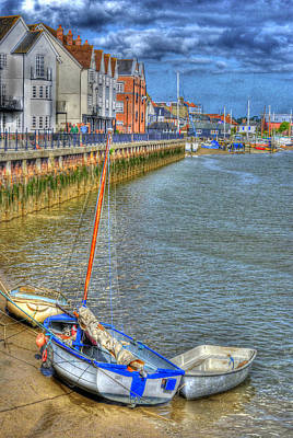 Hdr Photograph - river colne essex UK by Jane James