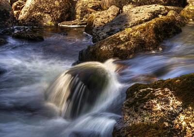 River Flows 02 Original by Svetlana Sewell