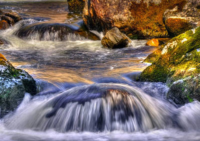 River Flows  Original by Svetlana Sewell