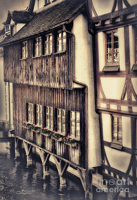Ulm Photograph - River House by Jutta Maria Pusl