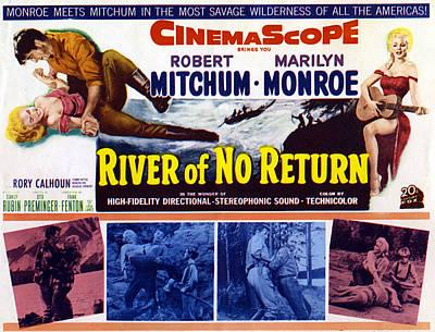 River Of No Return, Marilyn Monroe Print by Everett