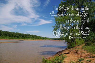 Photograph - River Of The Water Of Life by Robyn Stacey