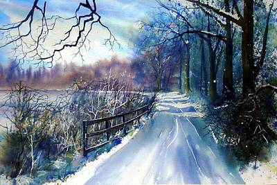 River Ouse In Winter Art Print