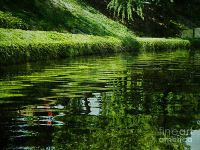 Riverwalk Digital Art - River Reflections by Lianne Schneider