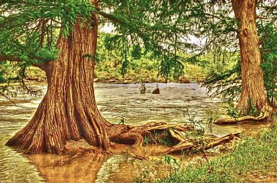 River Rise Art Print by Frank SantAgata