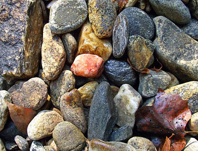Photograph - River Rocks 5 by Duane McCullough