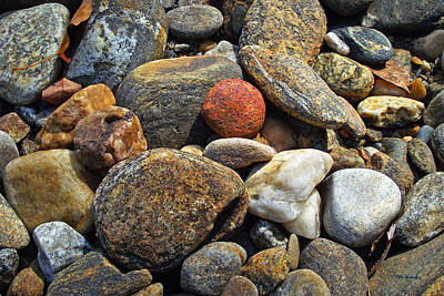 Photograph - River Rocks 6 by Duane McCullough