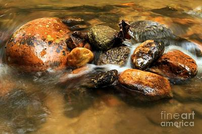 Photograph - River Rocks by Adam Jewell