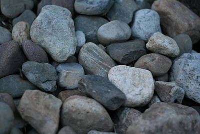Photograph - River Rocks Far From Home by Bonnie Boden