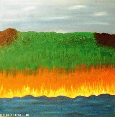 River Sambatyon Art Print by Harris Gulko