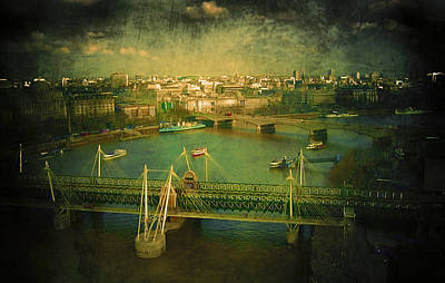 European City Digital Art - River Thames  by Svetlana Sewell