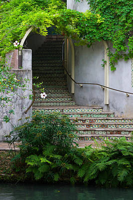 Photograph - River Walk Stairs by Ed Gleichman