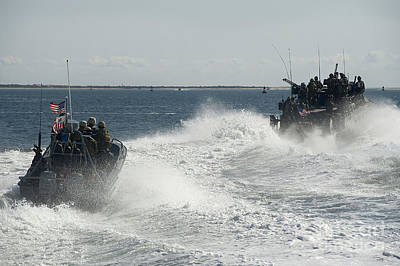 Jolly Old Saint Nick - Riverine Command Boats And Security by Stocktrek Images