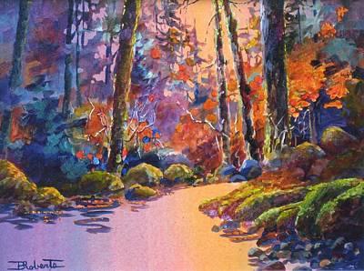 River's Palette Art Print