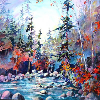 River's Rainbow Art Print