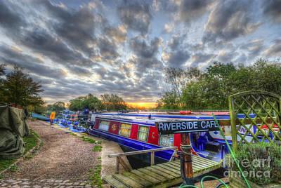 Photograph - Riverside Cafe by Yhun Suarez