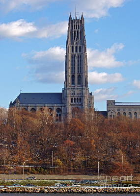 Photograph - Riverside Church by Carol  Bradley