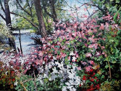 Painting - Riverside Dr. by Sheila Holland