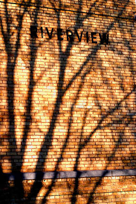 Photograph - Riverview  Shadows -  No.  1 by William Meemken