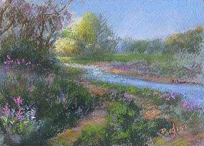 Pastel - Riverwalk by Bill Puglisi