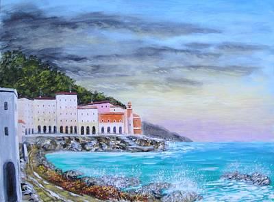Riviera Ligure Original by Larry Cirigliano