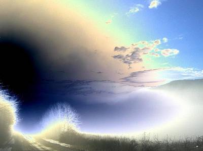 Luminous Digital Art - Road From The Darkness by Will Borden