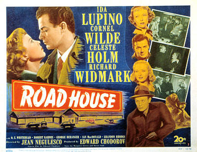 Road House, Ida Lupino, Richard Art Print by Everett