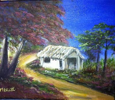 Road House Art Print by M bhatt