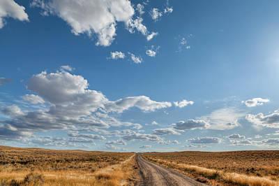 Road Near Ten Sleep Wyoming Original by Steve Gadomski
