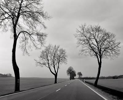 Photograph - Road Through Windy Fields by Ari Salmela