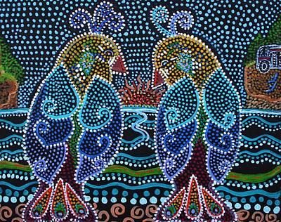 Painting - Road To Romance In Alaska by Kelly Nicodemus-Miller