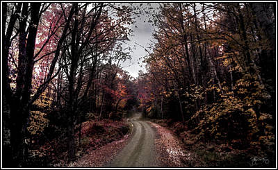 Photograph - Road To Sandwich Notch by Wayne King