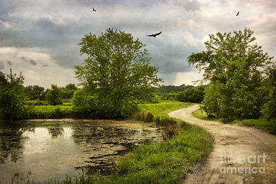 Columns Photograph - Road To The Storm by Susan Isakson