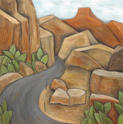 Road To Zion Art Print