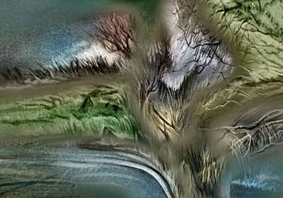 Pastel - Roadscape 2 - 2010 by Glenn Bautista