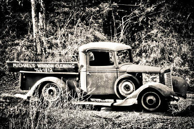 Photograph - Roadside Opportunity Black And White by Connie Cooper-Edwards