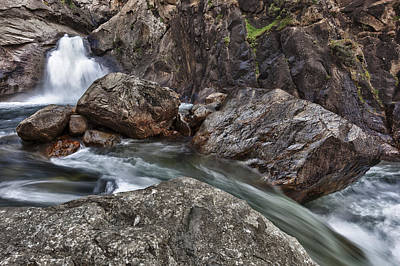 Photograph - Roaring River Falls by A A