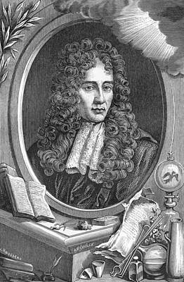 Law Books Photograph - Robert Boyle, Anglo-irish Chemist by