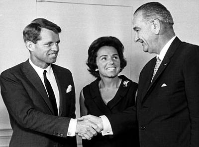 Lyndon Photograph - Robert F. Kennedy Resigning As Attorney by Everett