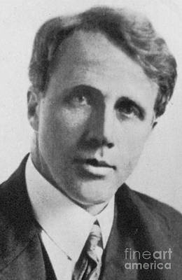 Realistic Photograph - Robert Frost, American Poet, Circa 1910 by Science Source