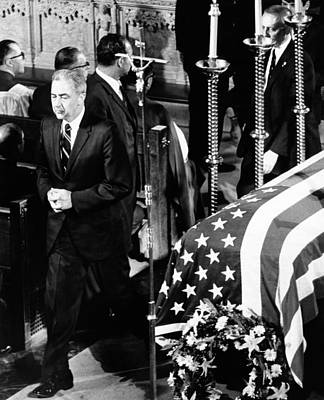 Rfk Photograph - Robert Kennedys Funeral. Senator Eugene by Everett