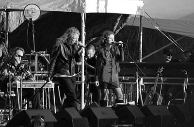 Robert Plant 5585 Bw Original by Dennis Jones